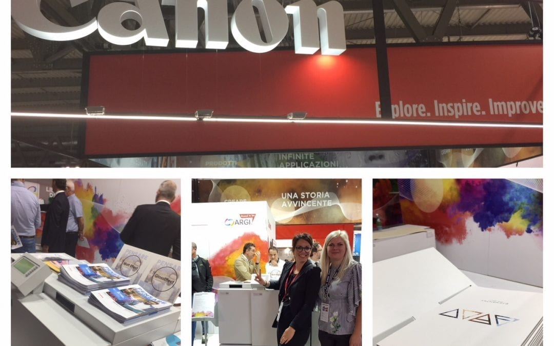 Canon Italy and SDD at Print4all in Milan