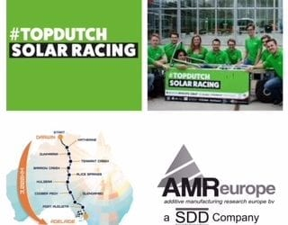 AMR Europe (a SDD company) sponsor of #TopDutch Solar Racing