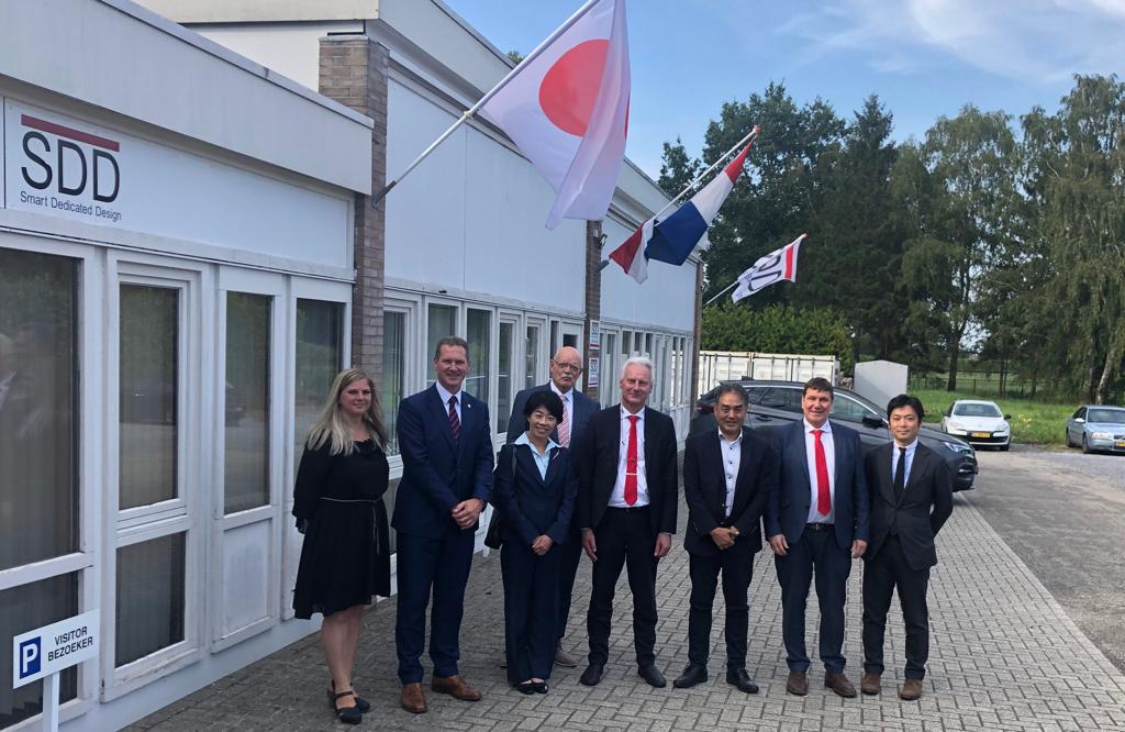 Japanese Embassy visits SDD in Emst
